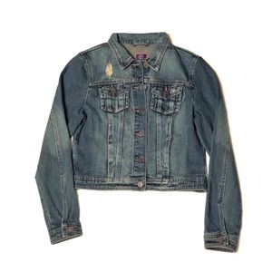 Boom Boom Jeans Denim Trucker Jacket